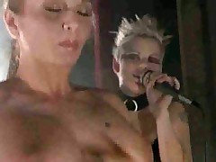 Orgy at a Rock concert