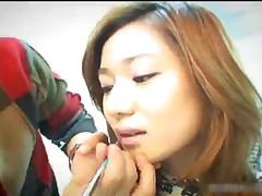 Tsubomi Kanno - Small Tits Tsubomi Kanno Gives A Breathtaking Blowjob 1 By HDidols