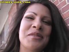 Teri - Teri Finds Gloryhole Cock In Public Restroom