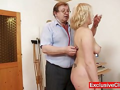 Jennifer - Jennifer Gets Tits And Pussy Gyno Exam At Kinky Clinic