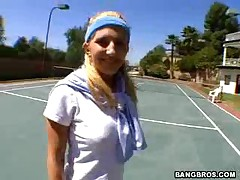 Vivian West And Drew - Ass Parade Naked Tennis Simple #11