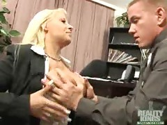 Candy Manson - Big Tits Boss Professional Pussy
