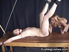 Extreme Lesbian Bondage Porn 2by GushingLesbos