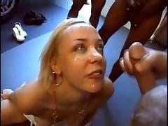 Annette Schwarz - Gets A Few Facials