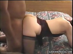 Cuckold Hubby Underneath His Wife While She Gets Pounded