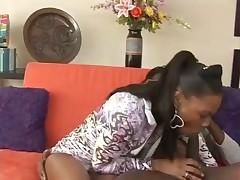 Ebony Bitch Takes It Doggy Style