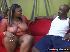 Ray Black And Haitian Beauty - Chubby Sistas