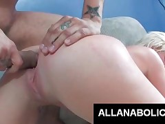 Brittney Lane - Sweet Blond Whore Gets Pink Twat Smashed