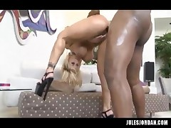 Shyla Stylez - Her Ass Gets Destroyed By Black Meat