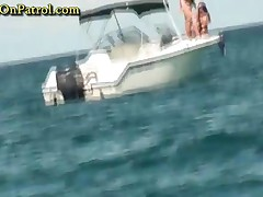 Daniela - Hot Chicks Naked On The Boat While Fishing