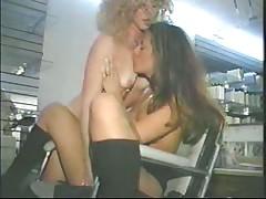 Hairdressers Lesbian Scene
