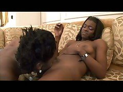 Ebony Amateur Sweeties Jizz Several Times