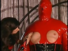 Lady Amanda Wyldefyre Has Fun With A Chained Up Man BDSM-STORES.com
