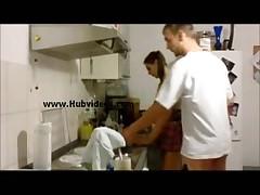 berlin babe teen kitchen fuck