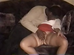 60 y.o. lady has a delicious big ass anal sex going on