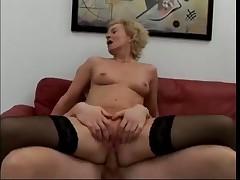 German Cougar Connie Carey Takes 5