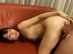 Aimi Nakatani Happily Crosses the Line
