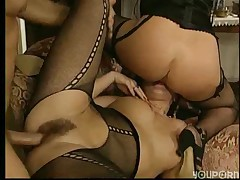 German gangbang and DP -