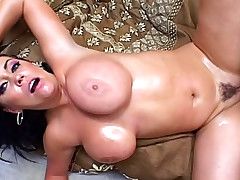 Gorgeous MILF With HUGE Tits Gets Fucked Hard In The Ass