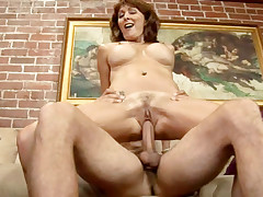 Lucky guy gets to fuck the hot mom before the daughter!