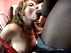 Two Horny Sluts Getting GangBanged &By Black Dude At The End