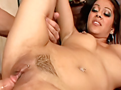 Lucky guys rides his wife's sister while she's out.