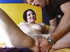 Rocco using his cock with 2 charming women in this video!