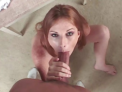 Nasty Whore Loves To Spit On Cock & Deepthroat On It