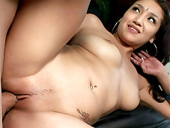 Young & sexy Indian riding this throbbing shaft like a pro!