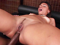 Dirty whore in heat is ready to fuck with an unknown dude