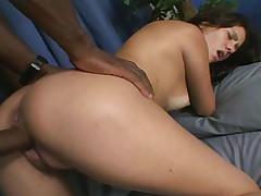 Beautiful latina babe gets her wet pussy pounded hard!