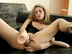 Blonde slut toying all her holes for Rocco's eyes and yours!