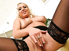 MILF striptease compilation from Her First Milf #11 DVD !