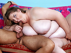 Cute shy and steamy hot BBW loves a cock in every hole