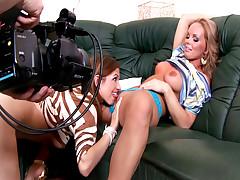 Behind The Scene With Porn Star Silvia Saint & New GF Eufrat