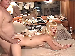 Sweet blonde enjoys auditionning to become a porn star!