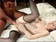 Rocco Showing Some Hot Slut How To Handle A Real Anal Sex