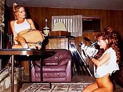 Nasty Lesbians! Watch 2 Girls Filming Their Hot Body On Cam!