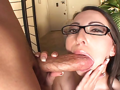 Sexy and horny girl loves to squirt and gets some hard cock