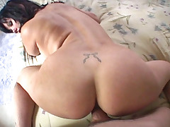 Big breasted MILF gets down and dirty in POV action video