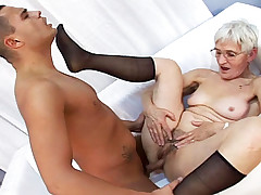 Mature woman is excited to get fucked in so many positions!