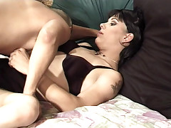Horny Transsexual Enjoys Fucking With Dude