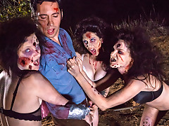 Wild cock hungry Zombettes are gonna fuck your brains out !