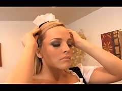 Alexis Texas ast the horny maid