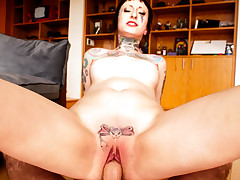Gorgeous Hollow get her cute pussy pounded hard POV style.
