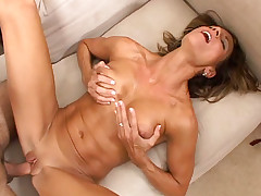 MILF Montana Skye gets a nice cock inside in tight pussy!