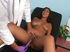 Big Boob Latina Gets Felt Up and Fucked