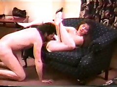 Fawn Miller has sex in a hotel room