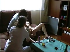 Amateur action girl