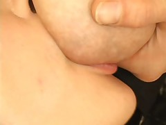 Milking and sucking tits 3